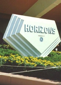 2nd version of the Horizons sign