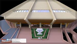 Entrance details - Horizons 3D model