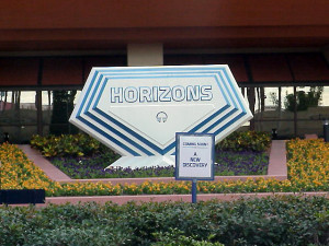 The way the Horizons sign looked the GE dropped their sponsorship.